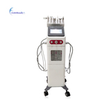 6 in 1 Multifunction Aqua Hydra Skin Galvanic Facial Spa Machine Water Dermabrasion Facial Care Mach