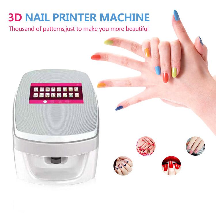 Good price nail printer 3D automatic nail painting machine ...