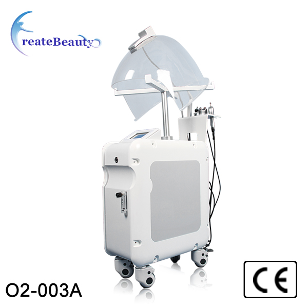 rf + oxygen mask +oxygen spray +oxygen inject oxygen facial skin care machine